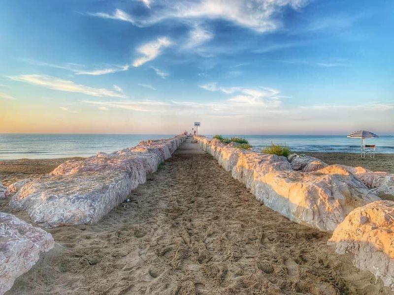 terrazza mare spiaggia
