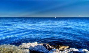 Il mare blu di Porto Santa Margherita